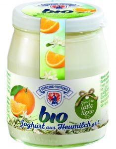 BIO Fruchtjoghurt Milchhof Sterzing im 150 g Glas